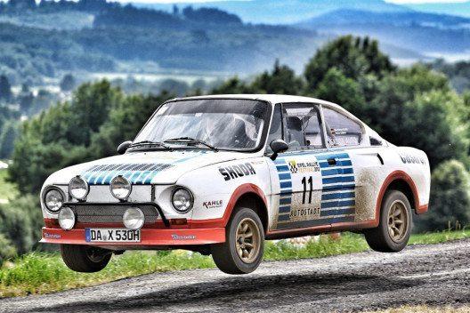 ŠKODA macht beim AvD-Oldtimer-Grand-Prix 115 Jahre Motorsportgeschichte lebendig: Von der langen und erfolgreichen Motorsporttradition der Marke ŠKODA zeugen auch die legendären Rennwagen aus den 1970er und 1980er Jahren wie der ŠKODA 130 RS. (Bild: ŠKODA AUTO)