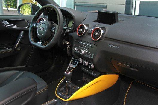 Das Innenleben vom Audi S1