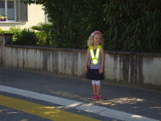 Die jüngsten Verkehrsteilnehmer brauchen im Strassenverkehr besonderen Schutz und Sicherheit. (Bild: © Polizei Basel-Landschaft)