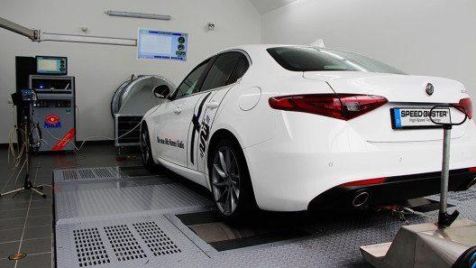 SPEED-BUSTER - Alfa Romeo Giulia (Bild: © SPEED-BUSTER)