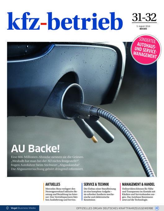 Titelseite: kfz-betrieb (Bild: © kfz-betrieb)