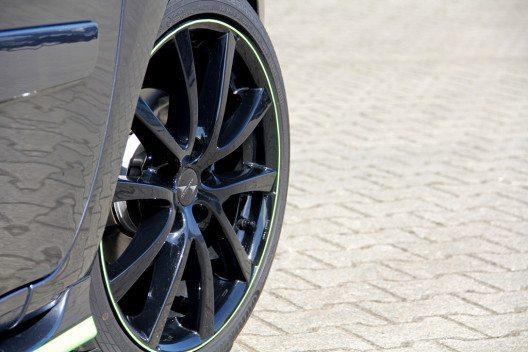 Bei VANSPORTS erhält der Citan einen Radsatz mit schwarzem Finish. (Bild: VANSPORTS/ Heinz Hartmann GmbH)