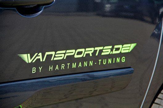 Vansports macht den Mercedes Citan 111 CDI dynamischer. (Bild: VANSPORTS/ Heinz Hartmann GmbH)