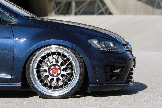 Wetterauer Engineering bietet den VW Golf R mit bis zu 400 PS an. (Bild: © Wetterauer Engineering GmbH)