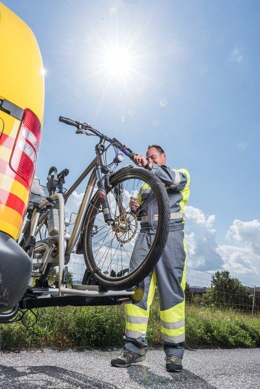 TCS Bike Assistance (Bild: © obs/Touring Club Schweiz/Suisse/Svizzero – TCS)