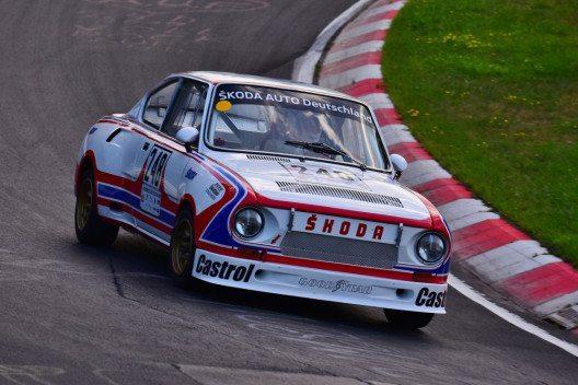 Die Rundstreckenversion des ŠKODA 130 RS gewann 1981 die Markenwertung in der Tourenwagen-Europameisterschaft. (Bild: © ŠKODA AUTO Deutschland)