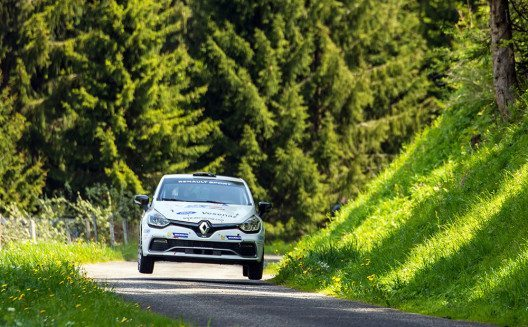 Am 2. und 3. September starten fünf Teams der Renault Clio R3T Alps Trophy an der Rallye Mont-Blanc Morzine. (Bild: © Renault Communications)