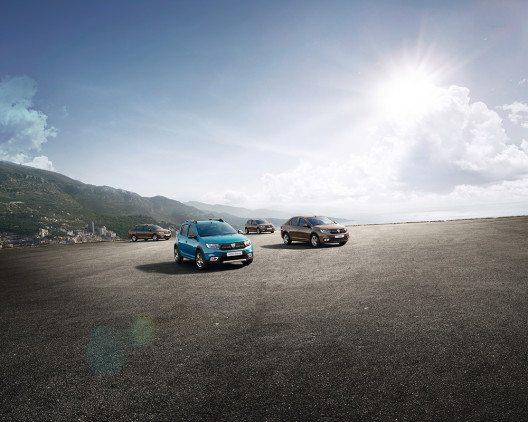 Am Duster orientiert – das ist der neue Look bei den Dacia-Modellen Sandero, Sandero Stepway, Logan MCV und Logan. (Bild: © BERNIER, Anthony / PRODIGIOUS Production)