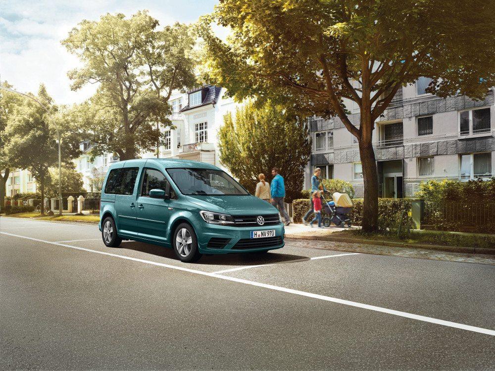 Caddy Edition TGI bietet eine in seiner Fahrzeugklasse einzigartige Kombination: einen Erdgas-Antrieb mit komfortablem Sechsgang-DSG.