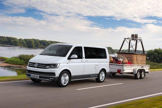 Für die T-Baureihe stehen insgesamt fünf Diesel- und zwei Benzinmotoren mit einer Bandbreite von 62 kW bis 150 kW zur Auswahl. (Bild: © Volkswagen Nutzfahrzeuge)