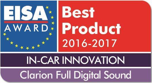 """EISA Award für die Auto-Klanglösung """"Full Digital Sound"""" (Bild: © Clarion)"""
