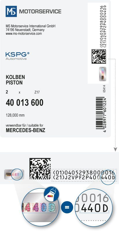 Motorservice Produkt Label (Bild: © tesa scribos)