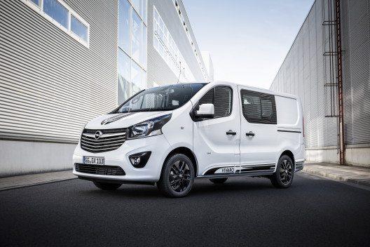 Der neue Vivaro Sport bietet Design- und Ausstattungsdetails, die man in dieser Fahrzeugklasse so nicht erwartet.