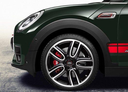 Der individuelle Stil des neuen MINI John Cooper Works Clubman ALL4 wird von exklusiven Ausstattungsmerkmalen geprägt. (Bild: BMW Group)