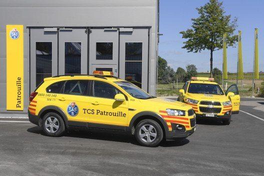 TCS Patrouillen-Stützpunkt