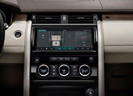InControl Touch Pro, das hochmoderne Infotainmentsystem aus dem Haus Jaguar Land Rover.