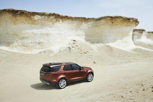 Ein Land Rover kommt mit jedem Terrain zurecht.