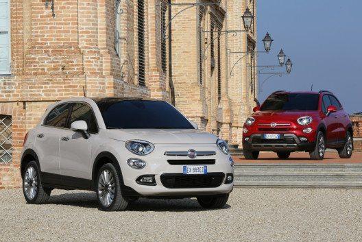 Fiat 500X (Bild: FCA)