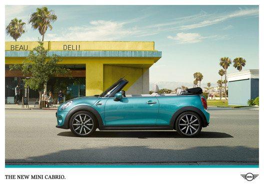 "Globale Kampagne zum neuen MINI Cabrio: ""Stay Open"" (Bild: © BMW Group)"