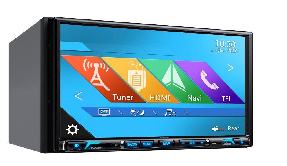 Multimedia-Station NX706EC - perfekte Unterhaltung und Navigation
