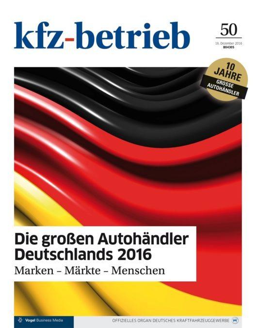 Die grossen Autohändler Deutschlands (Bild: © Vogel Business Media)