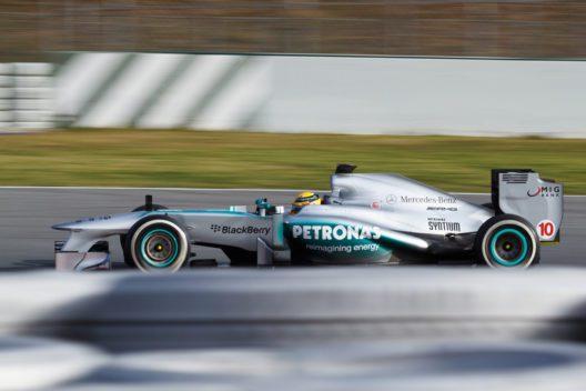Rennwagen von Mercedes AMG (Bild: © ZRyzner - shutterstock.com)