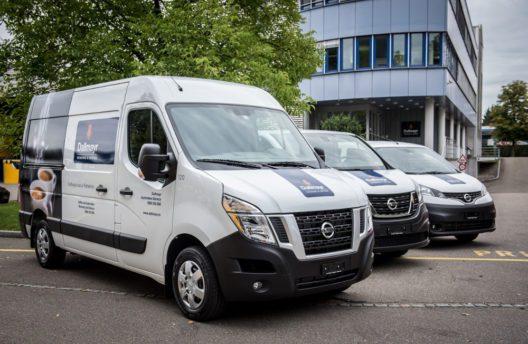 Knapp 200 Nissan-Nutzfahrzeuge beim Traditionsunternehmen Dallmayr im Einsatz
