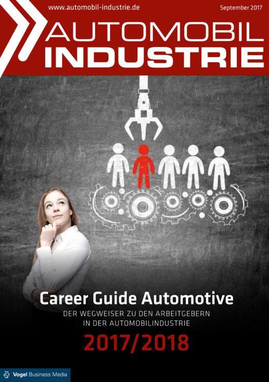 "Titelblatt ""Automobil Industrie"" (Bild: Vogel)"
