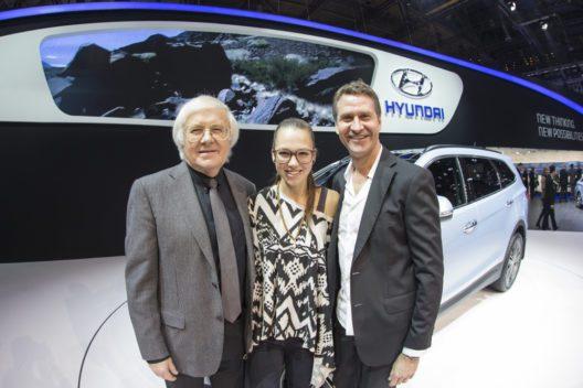 Hyundai Auftritt am Autosalon in Genf 2013. (Bild: HYUNDAI/Alessandro Della Bella)