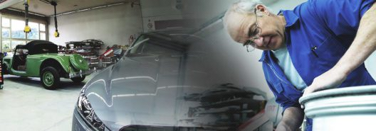Oldtimer restaurieren lassen in der Autospritzwerk André Hodel