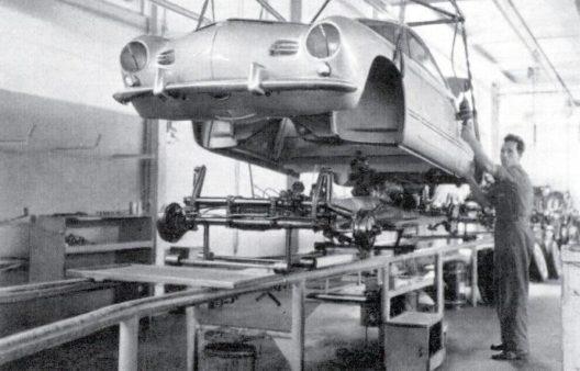 Ab 1957: Die Karmann Produktion in Schinznach-Bad