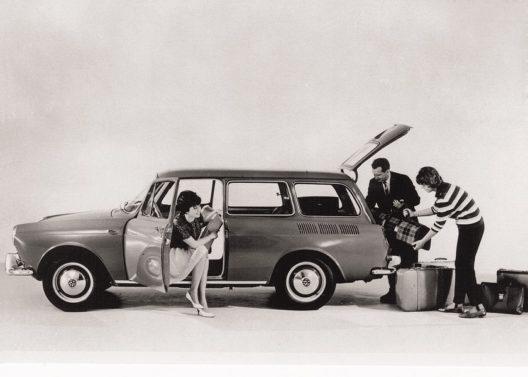 1962: Variant 1500, der erste VW als Kombi.