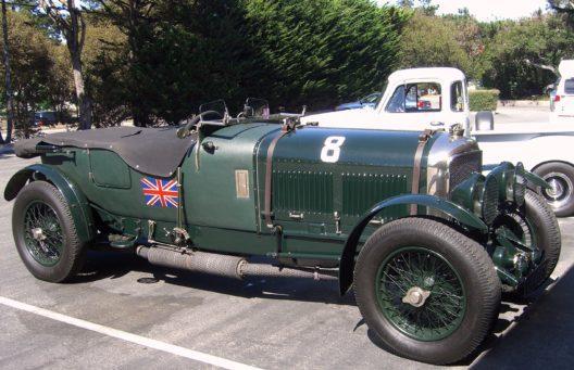Bentley Speed Eight, 1926 (Bild: tbc)