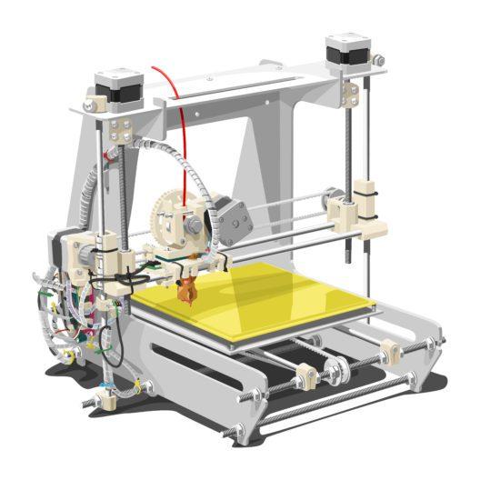 3D-Drucker (Bild: Babich Alexander - shutterstock.com)