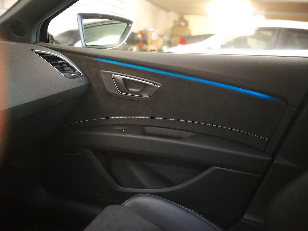 Seat Leon Cupra LED-Leisten