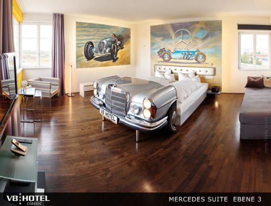 V8Hotel - die Mercedes Suite (Bild: © V8-Hotel)